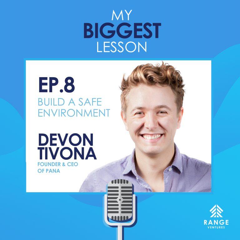 Devon Tivona: Build A Safe Environment